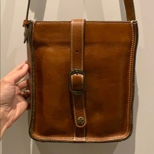 Patricia Nash leather cross body bag